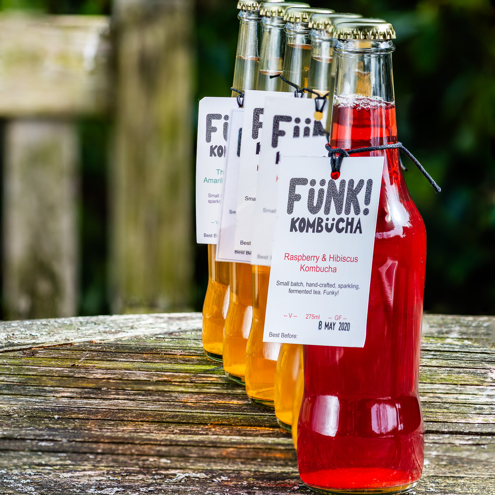 Funk Kombucha - Photography by Sue Todd Photography.