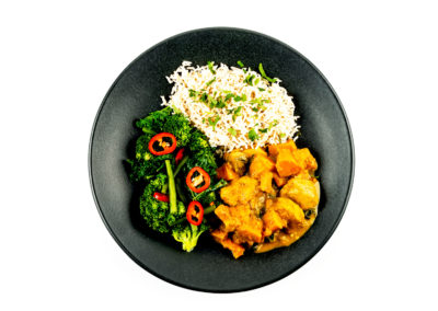 Thai Chicken Spinach and Sweet Potato Curry - The Naked Deli