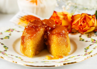 Apricot and Almond Pudding from The Proof of the Pudding. Photography by Sue Todd Photography.