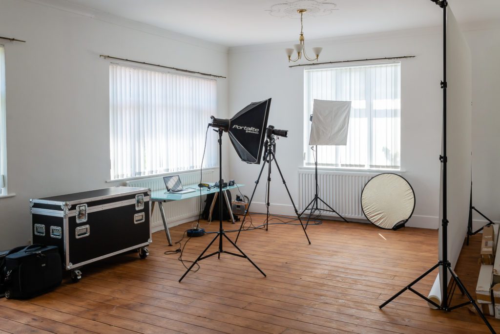 A shoot can take up a lot more space than you might imagine.